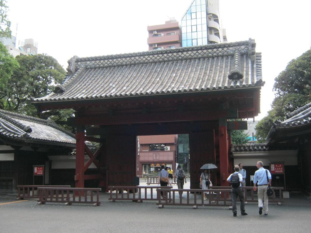 Akamon gate at Tokyo University.